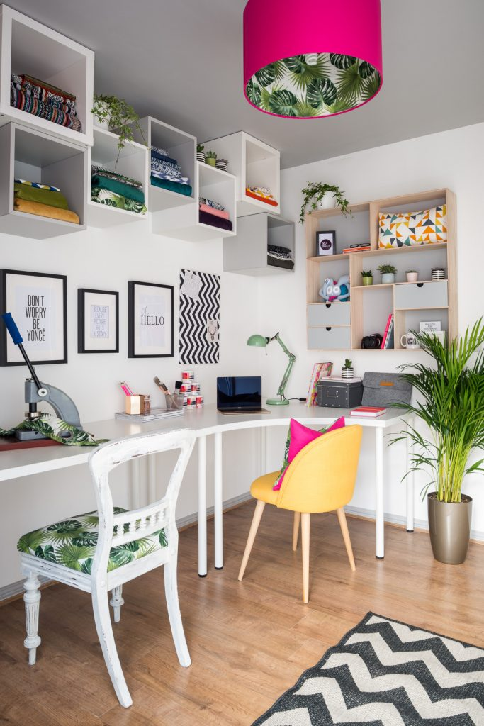 Bright and inviting home office