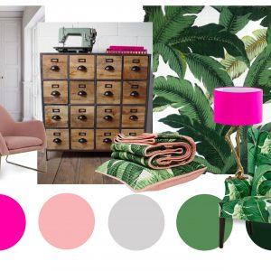Moodboard for home office/studio