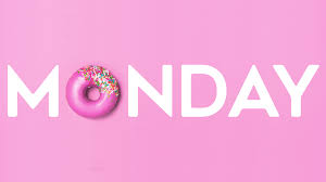 Monday type with donut